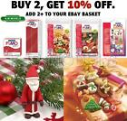 FIMO Christmas -Choice Of Moulds (For Clay, Chocolate etc) Or Over Bake Clay Red