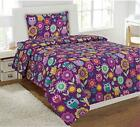 Fancy Collection 6pc Kids/teens Owl Flowers Design Luxury Bed-in-a-bag...