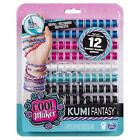 KUMI KREATOR BRACELET MAKER FASHION PACK REFILL MAKES 12 BRACELETS KUMIKREATOR