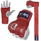 "DEFYв""ў Gel Padded Inner Gloves with Hand Wraps MMA Muay Thai Boxing Fight PAIR"