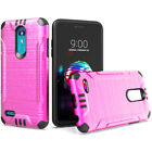 Phone Case for Tracfone LG Premier Pro L413DL ShockProof Dual-Layered Cover