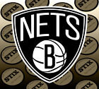 Brooklyn Nets Logo NBA Color Die Cut Vinyl Sticker Car Window Laptop Wall Decal on eBay