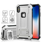 Armor Heavy Duty Shockproof Kickstand Cover Case For iPhone & Samsung Phone
