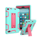 For Amazon Kindle Fire HD 8 2018 8th Gen Kids Hybrid Shockproof Hard Case Cover
