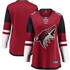 Fanatics Branded Arizona Coyotes Women's Red Breakaway Home Jersey $89.99 USD on eBay