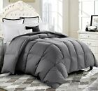 Luxury Supersoft Goose Down Alternative Comforter Twin Queen King Size, 9 Colors image