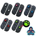 'Dog Kitty Paw Thumb Stick Grips Cover For Nintendo Switch Joy Con Controller Egp