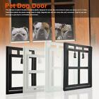Plastic Magnetic Locking Pet Door Exterior Interior For Dogs Screen Window Gate