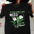 Betty Boop If You Don't Like Weed Kiss My Endzone T-Shirt Size M-3XL US Stock $14.99 USD on eBay