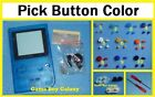 Clear Blue GAME BOY POCKET SHELL SCREEN Replacement housing PICK A COLOR BUTTONS
