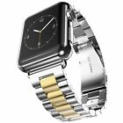 Replacement For A pple Watch 5 4 3 2 1 Metal Strap Clasp Band 40/44/42/38mm