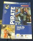 BRISTOL ROVERS HOME PROGRAMMES 2005-2006