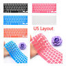 """For Macbook Air Pro Retina 11"""" 12"""" 13"""" 15"""" 17"""" Keyboard Cover Notebook Skin New"""