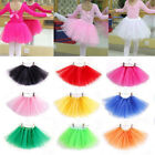 Внешний вид - 3 Layer Toddler Skirt Kids Girls Tutu Dress Up Costume Party 3-8 Year Old