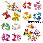 Folding Wings Double Layer Fridge Magnet Wall Stickers 3d Butterfly  Decals