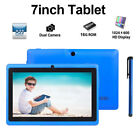Kids Tablet 7'' inch Quad Core 16GB HD Tablet Dual Camera WiFi Android Education