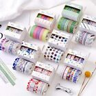 Внешний вид - 5 Pcs/lot Washi Tape Decorative Paper Stickers Scrapbooking Adhesive Stationary