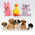 Dog Toys Cotton Dental Teaser Rope Chew Teeth Cleaning Toys Small Bear, Rabbit a