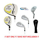 AGXGOLF Junior Eagle Graphite Golf Club Set wDriver, Hybrid, #7