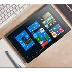 """2IN 1 10.8"""" FHD IPS Laptop Computer Quad-Core 4GB RAM 128GB 1.92GHz PC O1"""