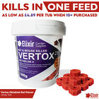 Rat Poison Mouse Killer Max Strength Brodifacoum Block Bait Quick Kill One Feed