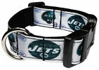 NEW YORK JETS FOOTBALL SPORTS PERSONALIZED DOG COLLAR OR ADD MATCHING LEASH $23.99 USD on eBay