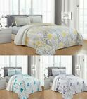 Leah 6PC Printed Blooming Flowers Bedspread, Oversize Coverlet  image