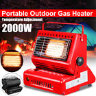 Portable Outdoor Gas Heater Grill Barbecue Camping Hike Fishing Butane