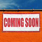 Vinyl Banner Sign Coming Soon Business Style S Marketing Advertising White