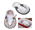 Portable Baby Pillow Sleep Cushion Pad Newborn Crib Nest Bed Mattress