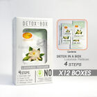 SPA REDI Organic Luxurious Pedicure DETOX IN A BOX 4 IN 1 ~CHOOSE any ~ x 12