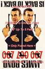 "DR. NO / FROM RUSSIA WITH LOVE 1965 James Bond 007 = POSTER 10 Sizes 18"" - 5 FT $62.88 CAD on eBay"