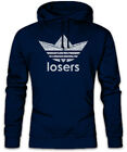 It Losers Hoodie Kapuzenpullover Clown Fun Ship Balloon King Ballon Papierschiff