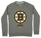 Reebok NHL Women's Boston Bruins French Terry Pullover Crew Sweatshirt $17.5 USD on eBay