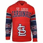 FOCO KLEW MLB Men's St. Louis Cardinals Big Logo Hooded Sweater, Red on Ebay