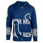 Forever Collectibles NFL Men's Indianapolis Colts Full Zip Hooded Sweater, Blue $34.95 USD on eBay