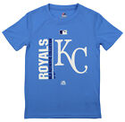 Majestic MLB Youth Kansas City Royals Short Sleeve AC Team Icon Tee on Ebay