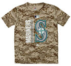 Majestic MLB Youth Seattle Mariners Short Sleeve AC Team Icon Tee on Ebay