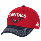 Adidas NHL Men Washington Capitals Pro Authentic Locker Room Structured Flex Hat $16.99 USD on eBay