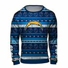 Forever Collectibles NFL Men's Los Angeles Chargers Hanukkah Ugly Sweater $44.99 USD on eBay