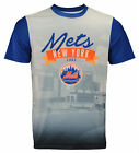 Forever Collectibles MLB Men's New York Mets Outfield Photo Tee on Ebay