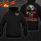 Victory motorcycles Punisher America Flag US Hoodie so cool Size S to 4XL