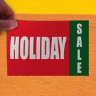 Decal Sticker Holiday Sale Promotion Business Business holiday sale Store Sign $9.99 USD on eBay