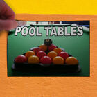 Decal Sticker Pool Tables Lifestyle Pool Table Outdoor Store Sign Multi-Colored $790.42 USD on eBay