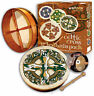 More images of Waltons 12 BODHRAN GIFT PACK. Small Irish drum with DVD. Gaelic Cross design.