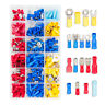 More images of 260 Pcs Assorted Insulated Electrical Wire Terminals Crimp Connentors Spade Set
