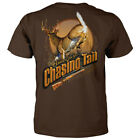 Hunters Live for Chasing Tail Adult Short Sleeve T Shirt