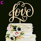 Romantic Mr. and Mrs. Cake Toppers Wooden Wedding Cake Topper Party Cake Decors