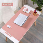 New Large Leather  Computer Desk Mat Table  Keyboard Mouse Pad Laptop Cushion