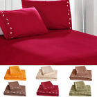 Home Living Cover Bed Flat Sheets And Pillow Covers Bedding Set M9G3 image